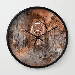 Acrylic Prison Corridor Wall Clock