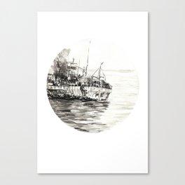 GHOST SHIP II Canvas Print