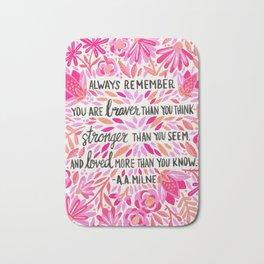 Always Remember – Pink Ombré Palette Bath Mat