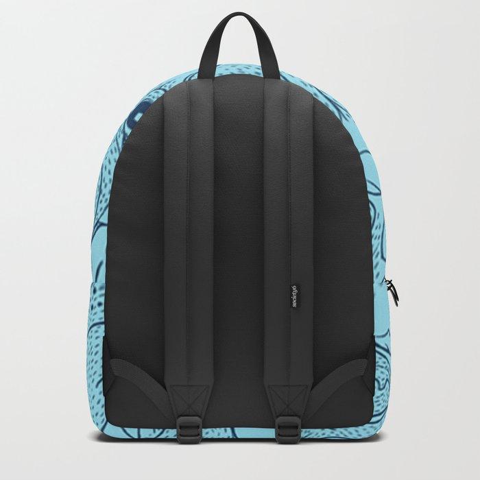 Pug jumble Backpack