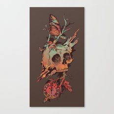 Mors et Natura Canvas Print