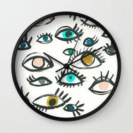 Pop Eyes Wall Clock