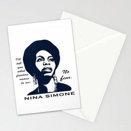Nina Simone No Fear Stationery Cards