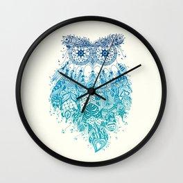 Blue Dream Catcher Wall Clock