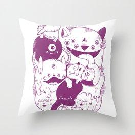 The living dream Throw Pillow