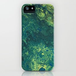 Lillypads Abstract iPhone Case