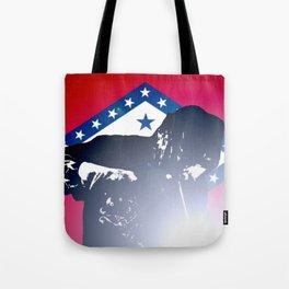 Welder: Arkansas Flag Tote Bag