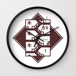 Shinra HQ Stairway (Final Fantasy VII) Wall Clock