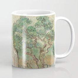 The Olive Orchard by Vincent van Gogh - Classic Art Coffee Mug