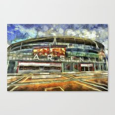 Arsenal FC Emirates Stadium Art Canvas Print