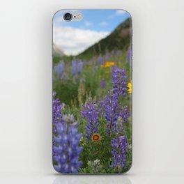Waterton Wildflower Festival iPhone Skin