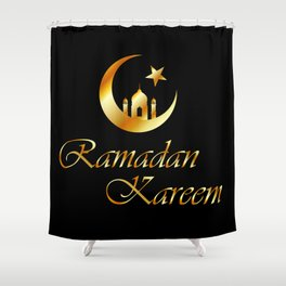 Ramadan Kareem Shower Curtain