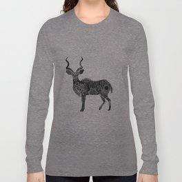 Henna-Inspired Kudu  Long Sleeve T-shirt