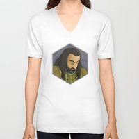 thorin V-neck T-shirts featuring Thorin by DodoRiv