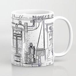 Engineered Sketch Coffee Mug