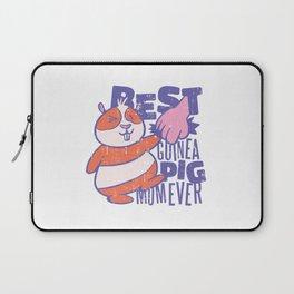 Best Guinea Pig Mom Laptop Sleeve