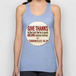 Give Thanks Unisex Tank Top
