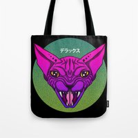 sphynx Tote Bags featuring SPHYNX by SHIN DE☆LUXE