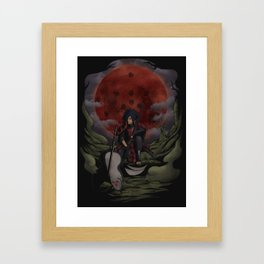 Uchiha Madara Framed Art Print