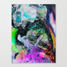 Abstract Melt III Canvas Print
