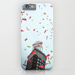 Kansas City Confetti iPhone Case