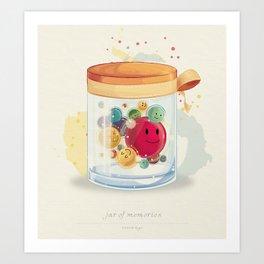 Jar of Memories Art Print