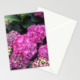 Pink Raindrops 2 Stationery Cards