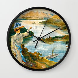 Furness Railway and Lady of the Lake Wall Clock