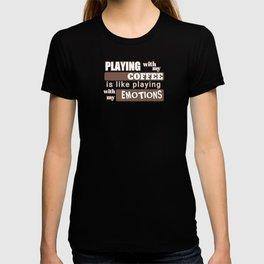 coffee emotions T-shirt