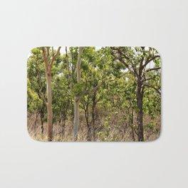 Beautiful forest regrowth Bath Mat
