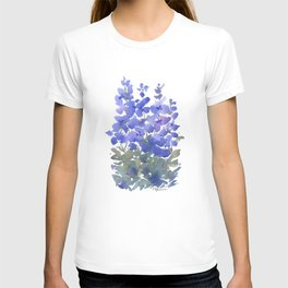 Beautiful Blue Delphiniums T-shirt