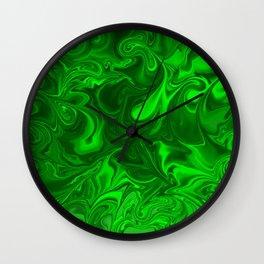 acid swirls  Wall Clock