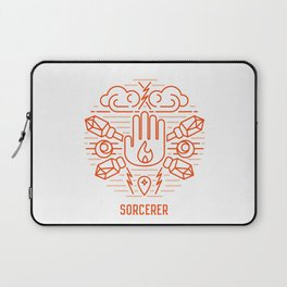 Sorcerer Emblem Laptop Sleeve