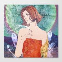 diamonds Canvas Prints featuring Diamonds by Ryan Haran