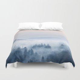 Pastel landscape 03 Duvet Cover