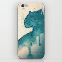 panther iPhone & iPod Skins featuring Panther by elisacalderoni92