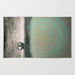 Spinning Out of Nothingness Rug