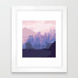 Sleeping City Framed Art Print