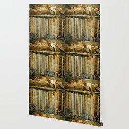 """Charles Rennie Mackintosh """"Rue du Soleil"""" Wallpaper"""