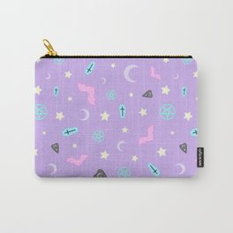 Pastel Goth Occult Pattern Carry-All Pouch
