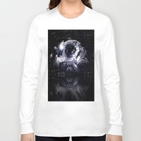 astronaut Long Sleeve T-shirts featuring ASTRONAUT. by capricorn