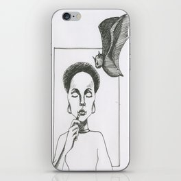 Here Comes The Bat iPhone Skin