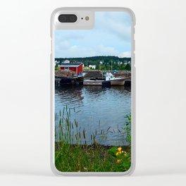 Fisherman's Wharf in Cape Breton Clear iPhone Case