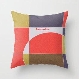 Amsterdam Mosaic Throw Pillow