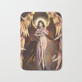Golden Wings Angel Bath Mat
