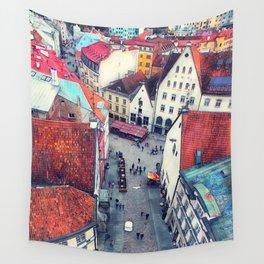 Tallinn art 6 #tallinn #city Wall Tapestry