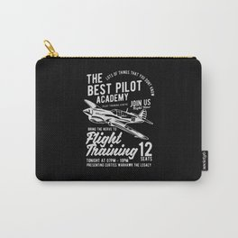 the best pilot academy Carry-All Pouch