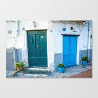 doors Canvas Prints featuring doors by Halina  Jasińska photography