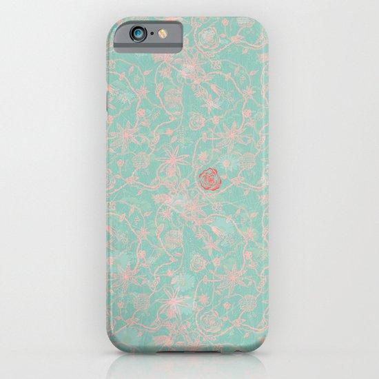 Tribal Flowers iPhone & iPod Case