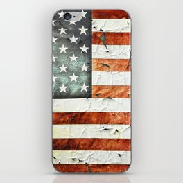Painted Stars And Stripes iPhone Skin